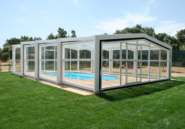 Cubiertas para piscinas y cerramientos tecnyvan somos for Piscina con cubierta
