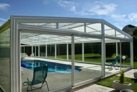 Nueva cubierta para piscina vulcano tecnyvan fabricante - Climatizar piscina exterior ...