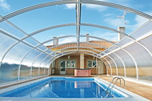 Cubierta de piscina fija Etna