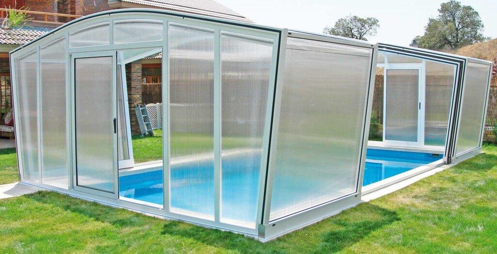 Cubierta para piscina olimpo tecnyvan for Fotos de piscinas cubiertas