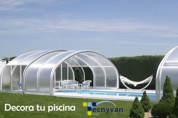 Decoración de piscinas cubiertas