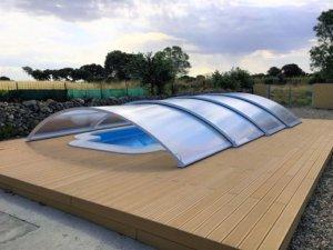 Cubierta baja de piscina Teide