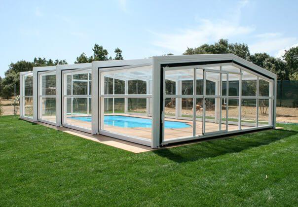 Cubiertas para piscinas y cerramientos de piscina tecnyvan - Piscinas cubiertas alcobendas ...
