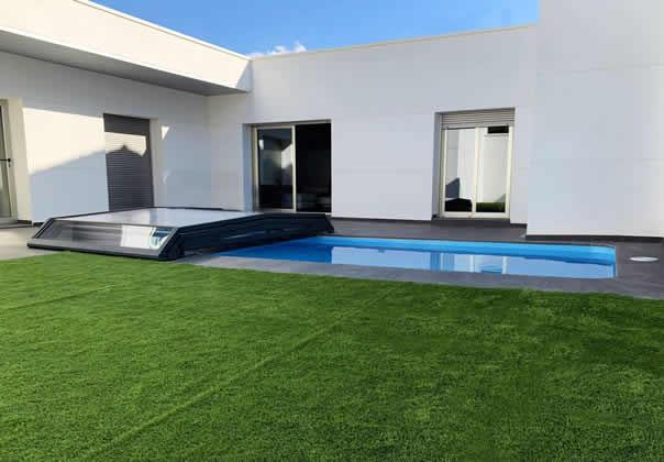 Cubiertas para piscinas y cerramientos de piscina tecnyvan for Cubiertas para albercas