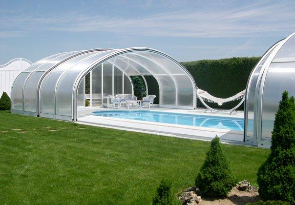 Cubiertas de piscinas precios interesting cupulas para for Cubierta de piscinas precios