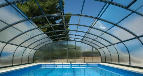 Cubierta alta para piscina etna