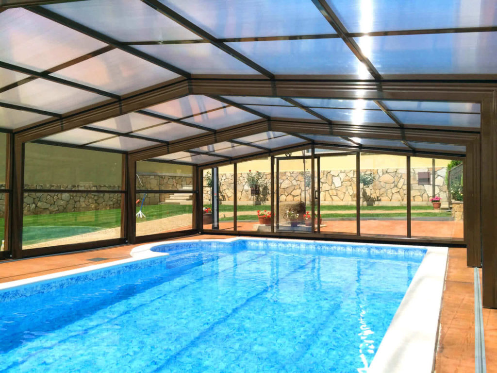 cubierta de piscina izalco clorador salino