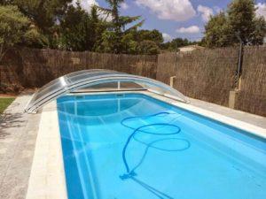 mantener cubierta de piscina en invierno