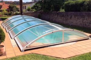 Cubierta de piscina baja Teide