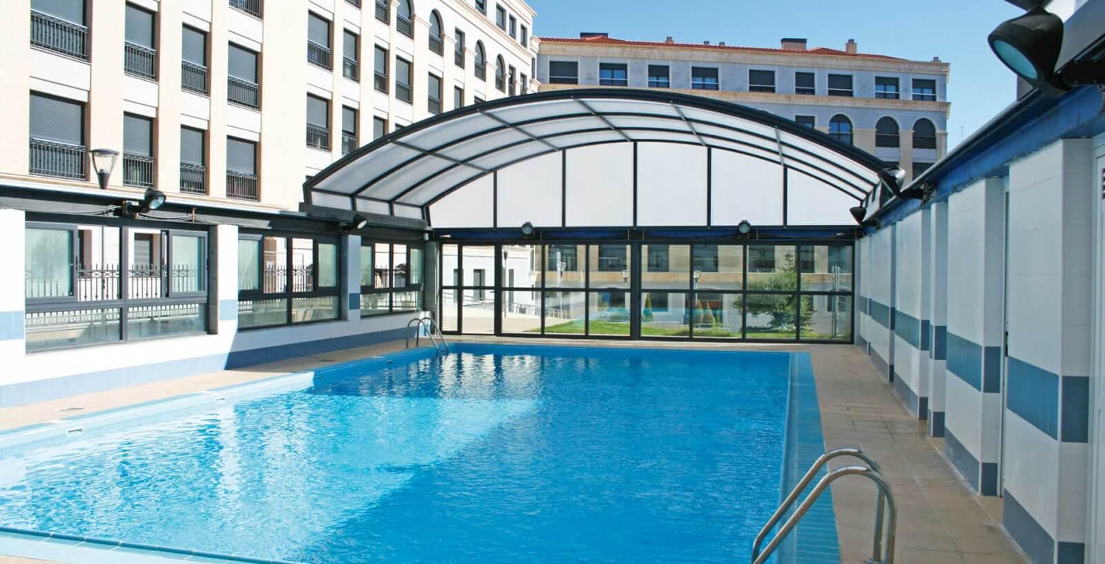 Techos para piscinas cerramientos a lo grande cubiertas - Piscinas cubiertas alcobendas ...