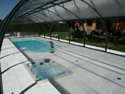 Spa y piscina cubiertos