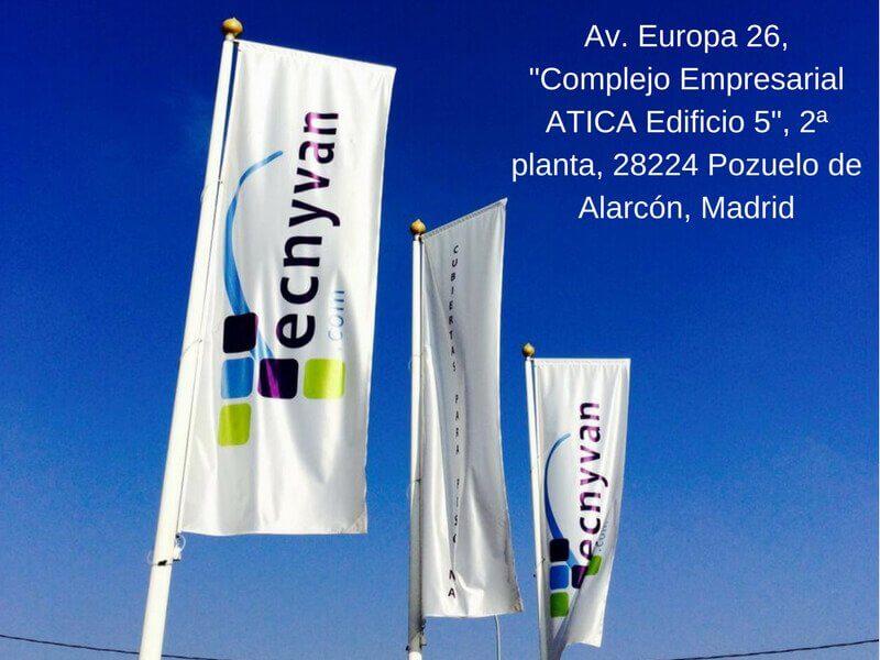 Nueva delegación Tecnyvan en Madrid