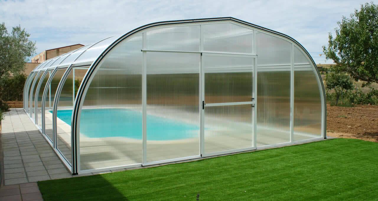Cubierta para piscinas modelo etna 2 0 tecnyvan for Cubiertas para piscinas