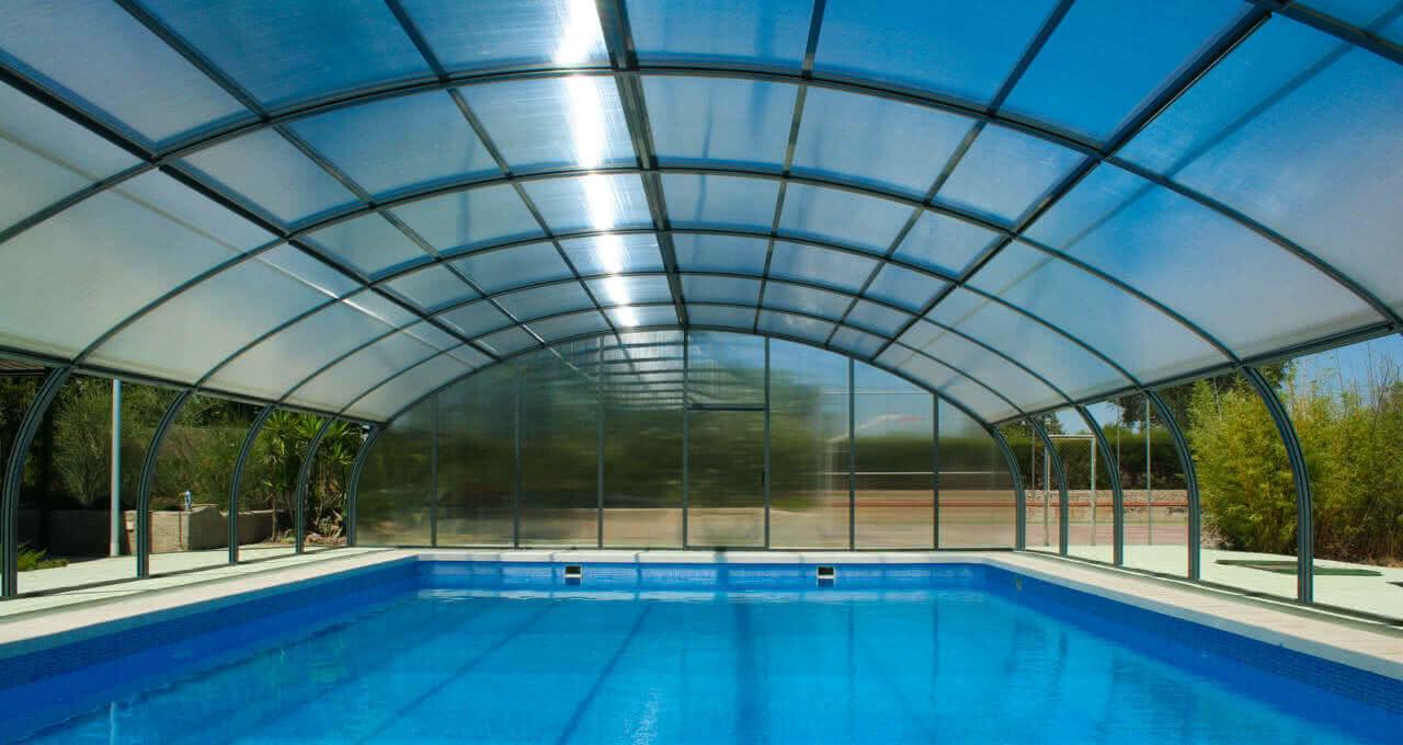 Etna cubierta fija para piscinas tecnyvan fabricantes for Cubierta de piscina