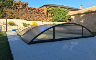 cubierta de piscina baja en sevilla la nueva (madrid)