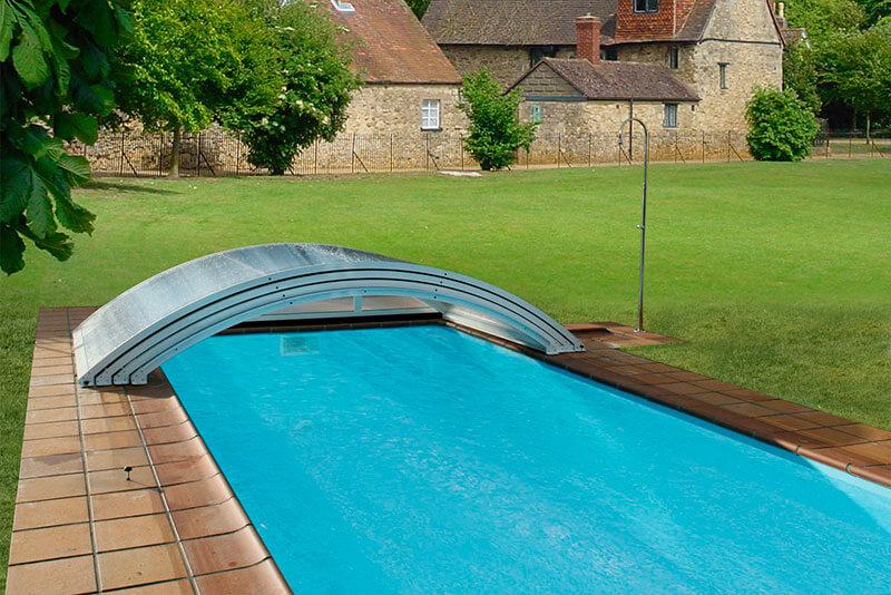 cubiertas de piscinas en asturias tecnyvan fabricante de