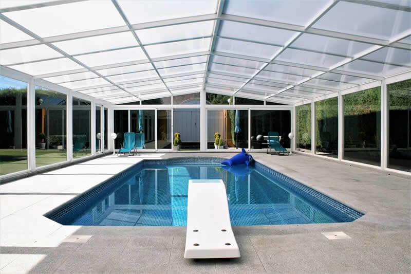 cubiertas de piscinas en madrid tecnyvan fabricante de