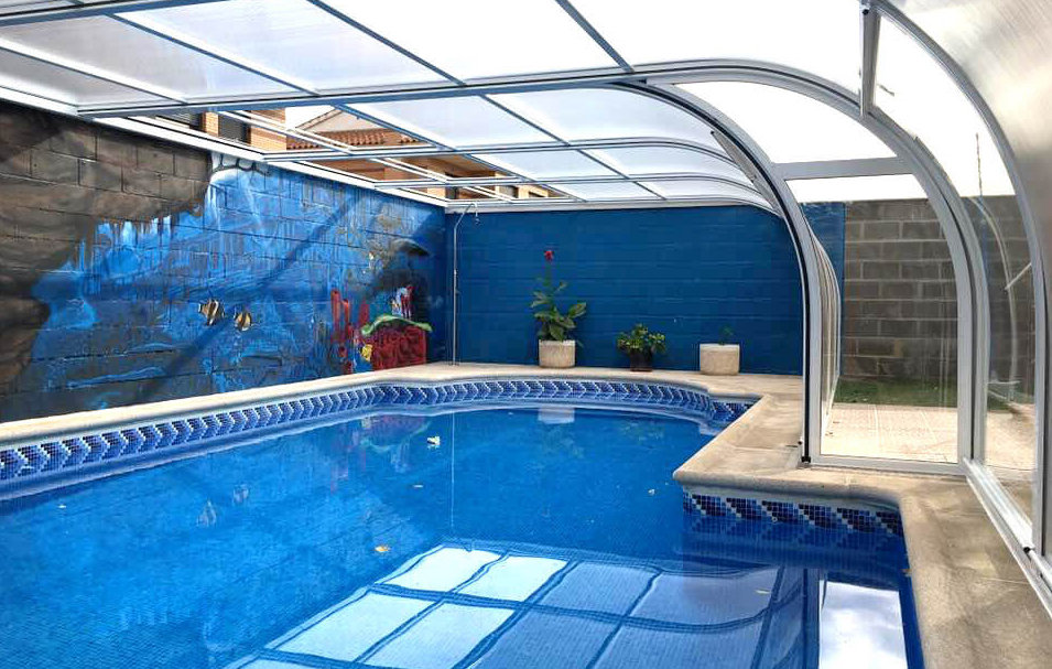 Por qu instalar cerramientos para piscinas blog tecnyvan - Cerramientos para piscinas ...