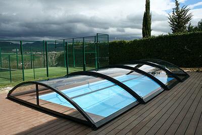 Precios cubiertas de piscinas tecnyvan fabricamos Cubierta piscina precio