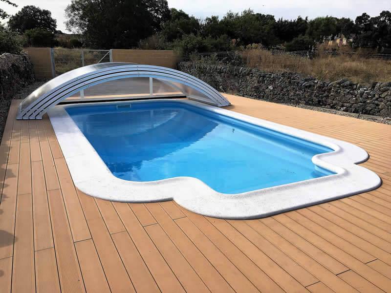 Precios cubiertas de piscinas tecnyvan fabricamos for Piscinas para enterrar precios