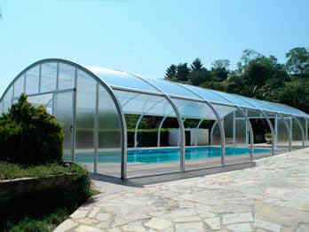 Cubiertas de piscina en valladolid tecnyvan fabrica for Piscina valladolid