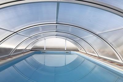 Cubierta baja de piscina Teide Plus