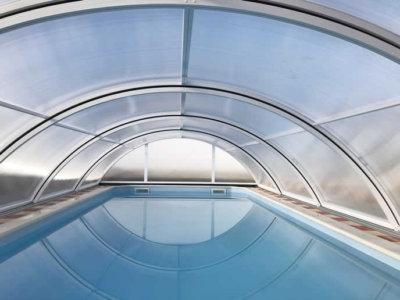 cubiertas bajas para piscinas Teide Plus Tecnyvan