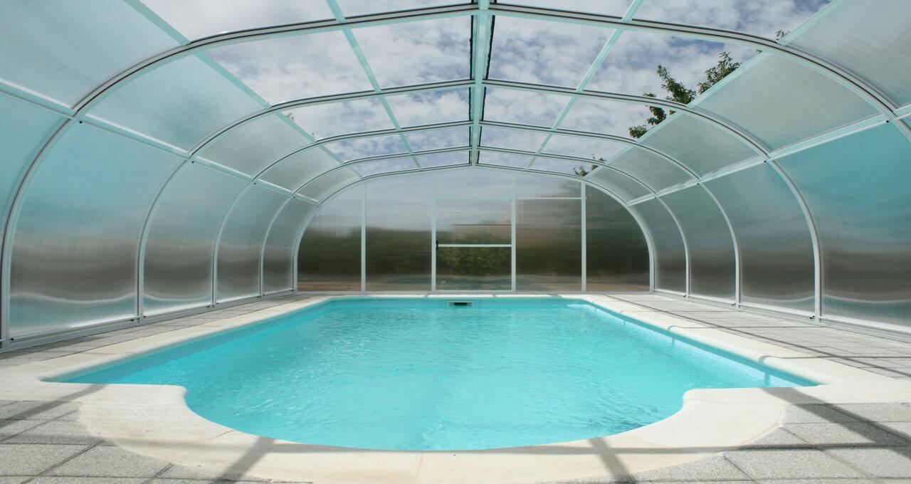 Etna cubierta alta para piscinas fija tecnyvan for Piscinas fabricantes