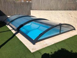 Cubierta de piscina baja Rivas (Madrid) Cubierta de piscina baja en Madrid