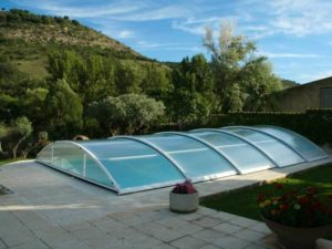 Cubierta para piscina en Madrid