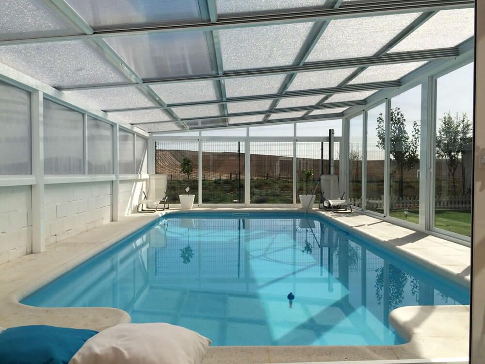 Cubierta para piscina personalizada en zamora tecnyvan for Piscinas zamora