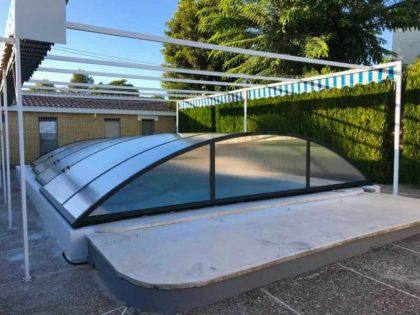 Instalación de una cubierta de piscina en Sevilla