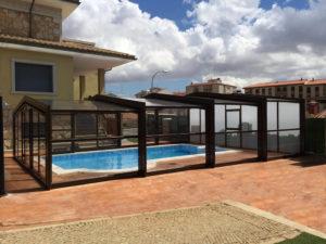 cubiertas altas para piscinas Tenyvan