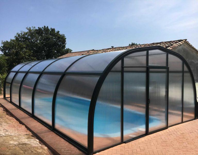 Cubierta Etna: Cubiertas de piscinas alta y fija en Burgos interior