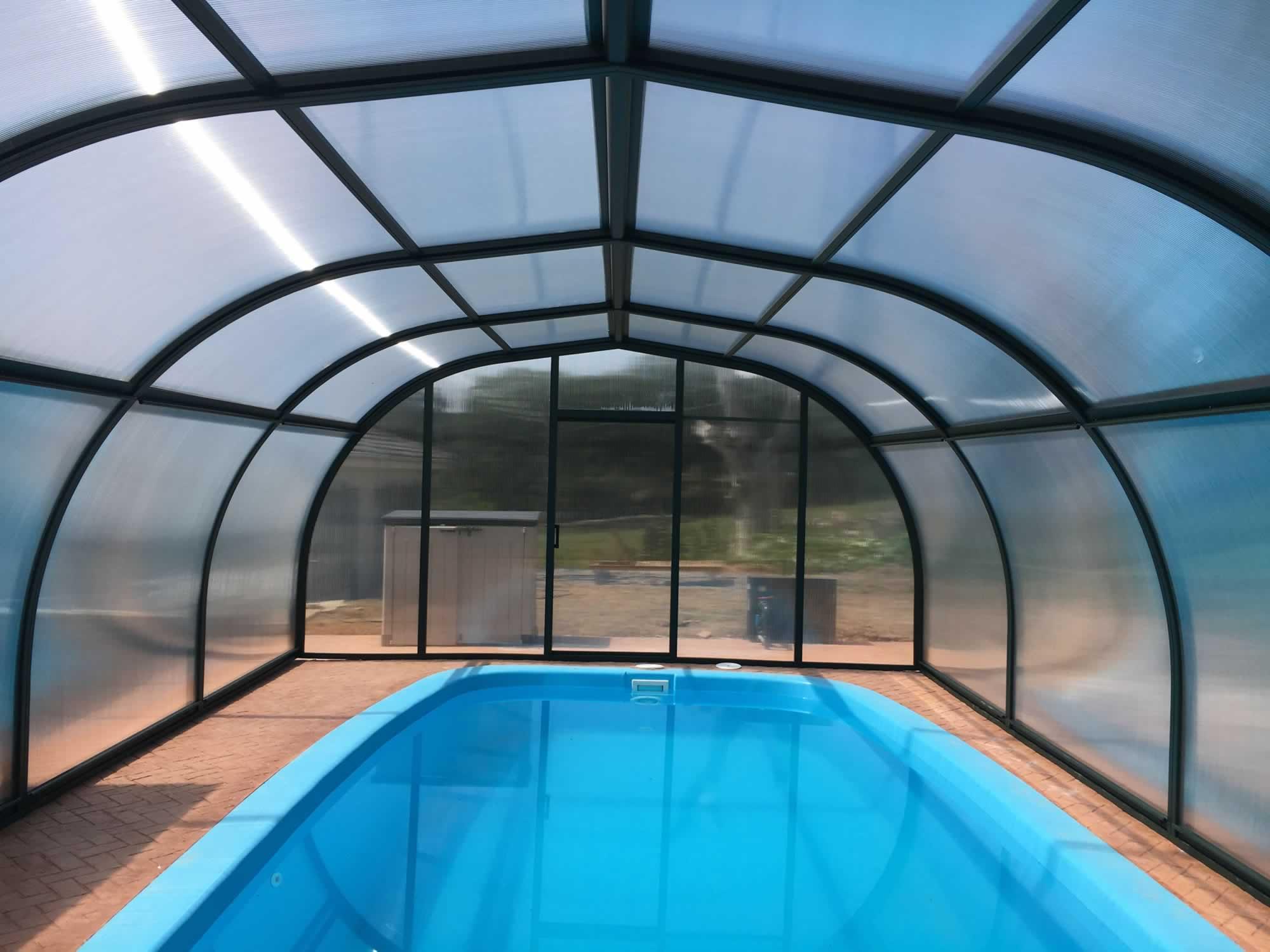 Cubierta Etna: Cubiertas de piscinas alta y fija en Burgos