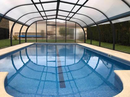 Cubierta Etna: Cubiertas para piscinas alta y fija en Ávila