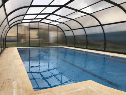 Cubierta Etna: Cubiertas para piscinas alta y fija en Ávila Interior