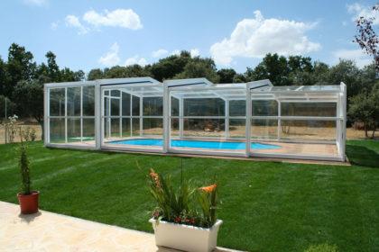 Cubierta Izalco: Cubierta de piscina alta y telescópica en Segovia