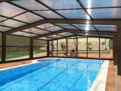 Cubierta Izalco: Cubierta para piscina alta y telescópica en Salamanca