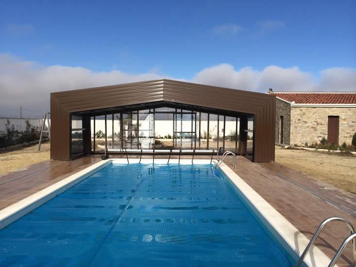 Cubierta Izalco: Cubiertas de piscina alta y telescópica en Palencia