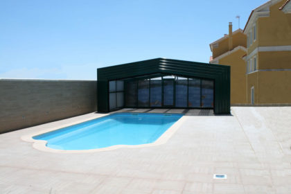 Cubierta Izalco: Cubiertas para piscina alta y telescópica en Asturias