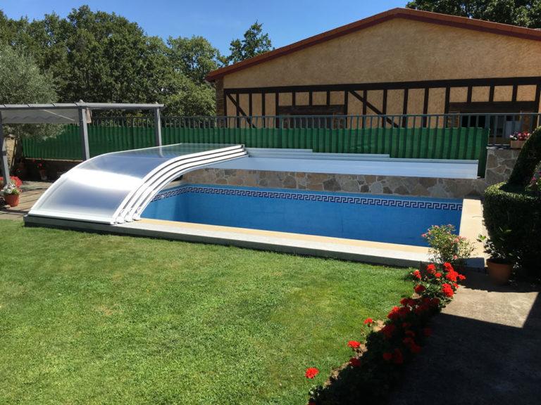 Cubierta piscina Teide