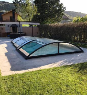 Cubierta Teide: Cerramiento de piscinas baja y telescópica en Burgos