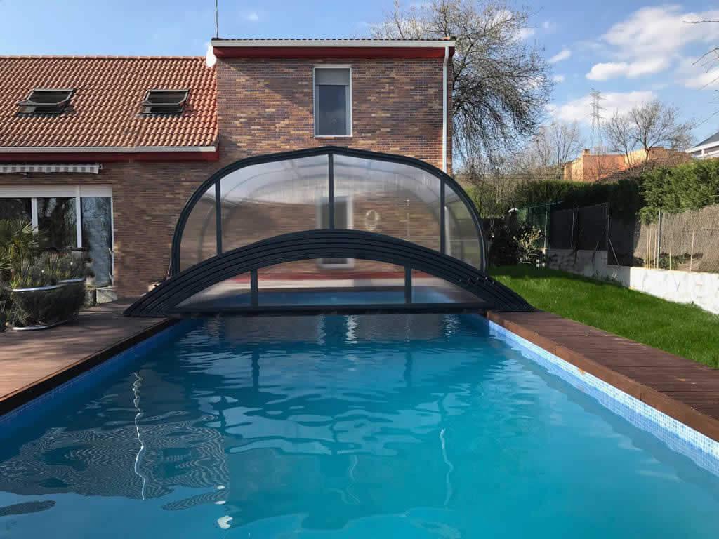 Cubierta Teide + Etna: Cerramientos para piscina baja y telescópica en Madrid