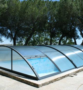 Cubierta Teide Plus con carriles: Cubierta baja y telescópica con railes en Valladolid