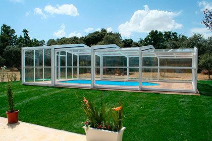 Izalco cubierta alta para piscinas