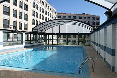 Cubiertas altas para piscinas Mega