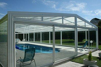 Cubiertas altas para piscinas Vulcano