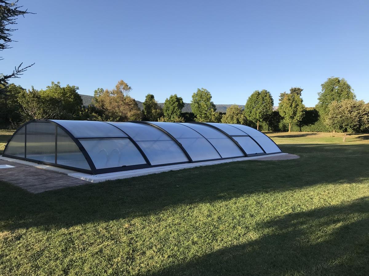 Instalación de Cubierta Teide Plus para piscina en Vitoria