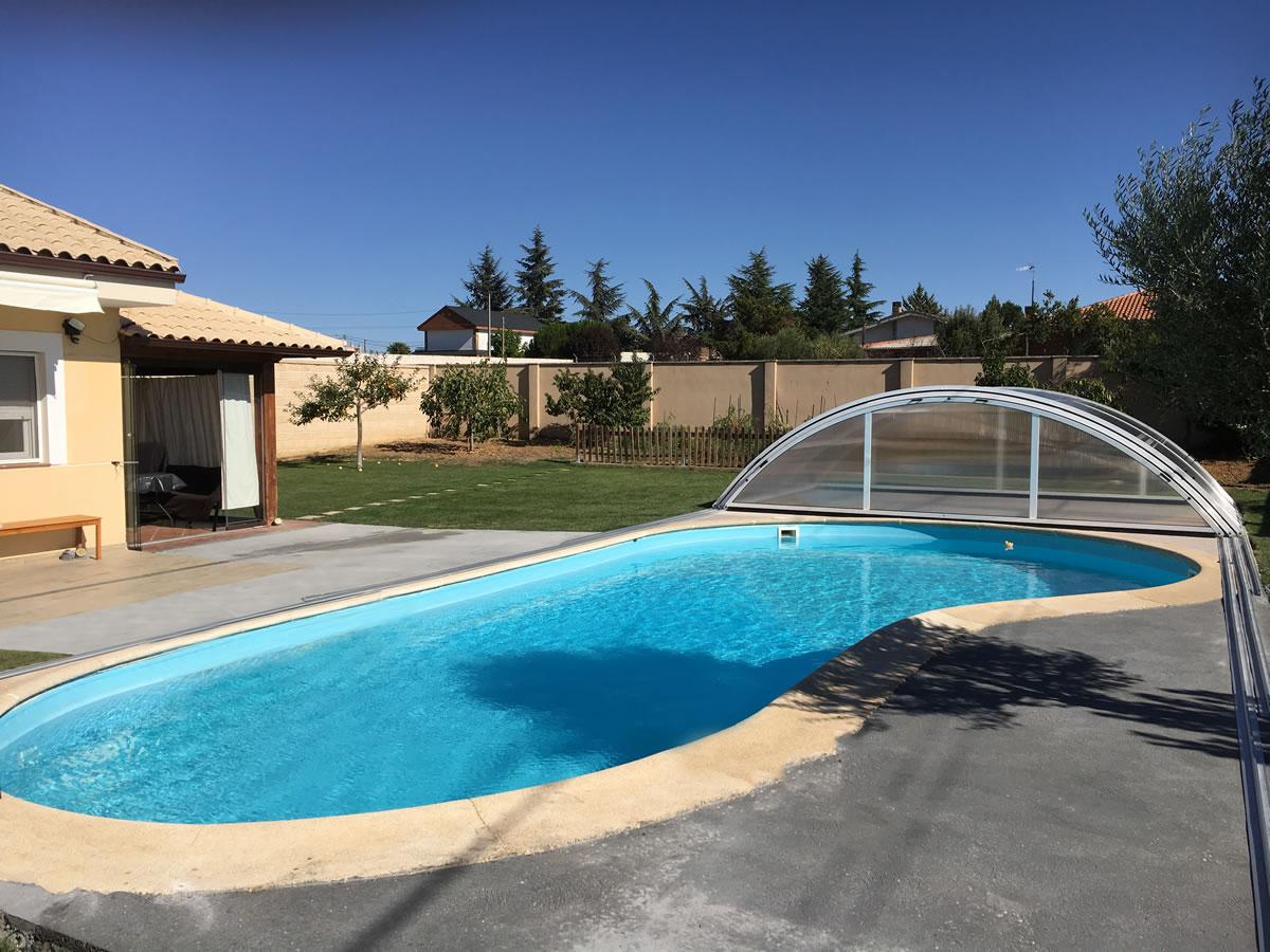 Cerramiento Teide Plus para piscina en Zamora